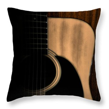 Play Me Throw Pillow by Bill Cannon