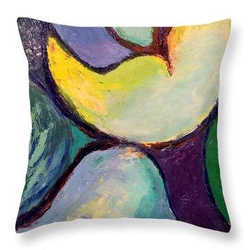Play Of Light Throw Pillow