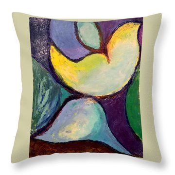 Play Of Light Throw Pillow