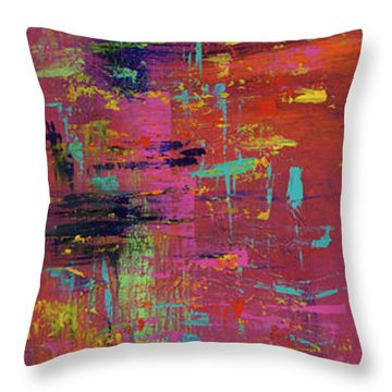 Play Of Passion Throw Pillow
