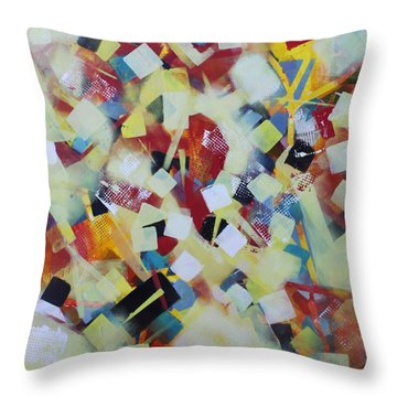 Play Time Throw Pillow