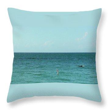 Playa Punta Las Marias Throw Pillow