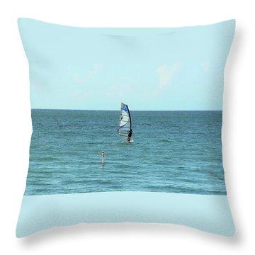 Playa Puntas Las Marias Throw Pillow