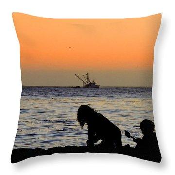 Playful Time Throw Pillow