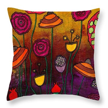 Playing Make Believe Throw Pillow