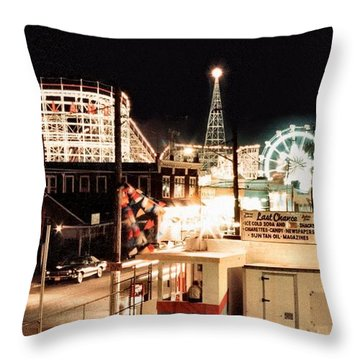 Playland Throw Pillow by Bruce Lennon