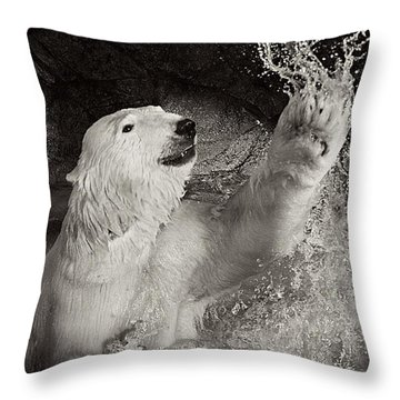 Throw Pillow featuring the photograph Playtime by Jessica Brawley