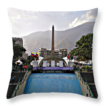 Plaza Altamira Throw Pillow
