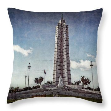 Plaza De La Revolucion Throw Pillow