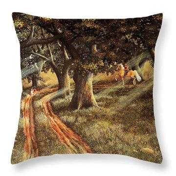 Pleasant Escape Throw Pillow