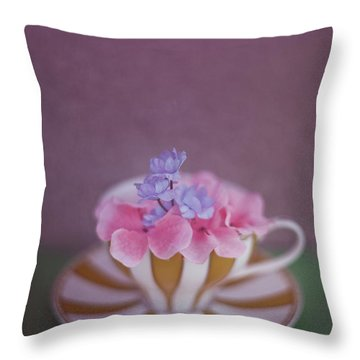 Pleasantries Throw Pillow