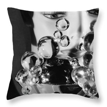 Please Don't Cry In Your Drink Throw Pillow