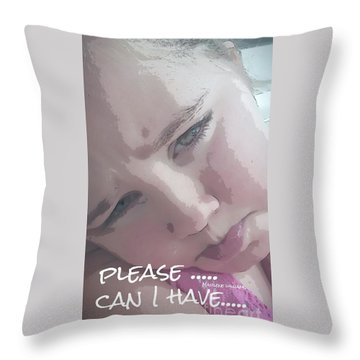 Please Throw Pillow