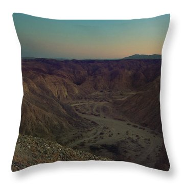 Please Stay Just A Little Bit Longer Throw Pillow