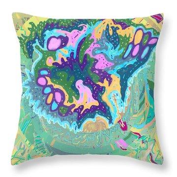Pleasure Island Throw Pillow