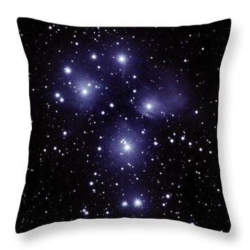 M45 Pleiades Throw Pillow