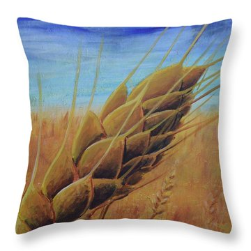 Plentiful Harvest Throw Pillow