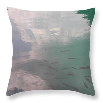 Plitvicelake Throw Pillow