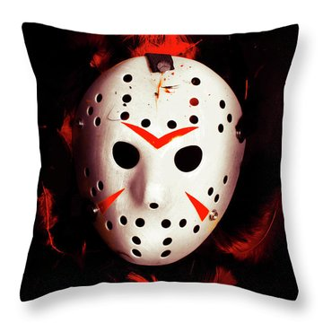 Plot Holes From Twisted Tales Throw Pillow