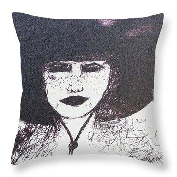 Plum Gorgeous Throw Pillow by Susan Gahr