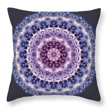 Plum Lovely Throw Pillow
