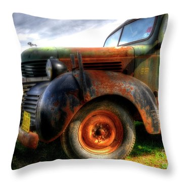 Plumbing And Heating Throw Pillow