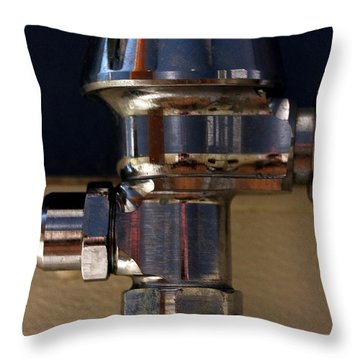 Plumbing Throw Pillow