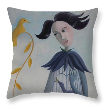 Plume Throw Pillow