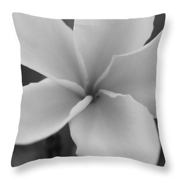 Plumeria 2 Throw Pillow