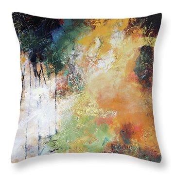 Plush Throw Pillow by Elizabeth Chapman