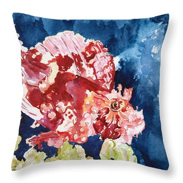 Png Leaf Fish Throw Pillow by Tanya L Haynes - Printscapes