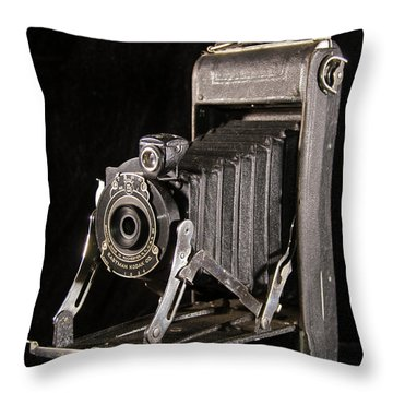 Pocket Kodak Series II Throw Pillow