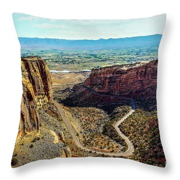 Pocket Size Grand Canyon Throw Pillow