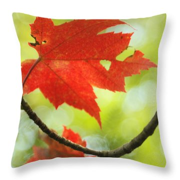 Poesie D'automne  Throw Pillow by Aimelle