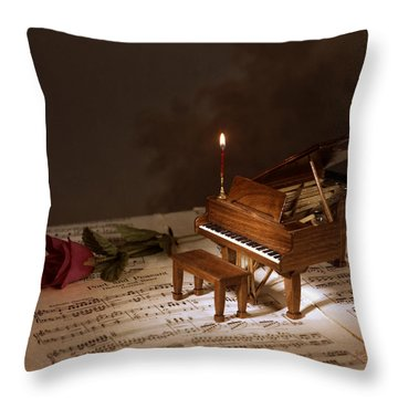 Poet And Peasant Throw Pillow