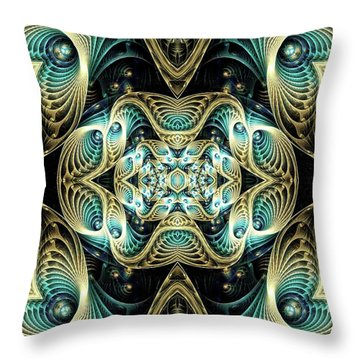 Poetry In Motion Throw Pillow by Lea Wiggins