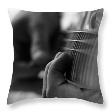 Poetry Of Sound Throw Pillow