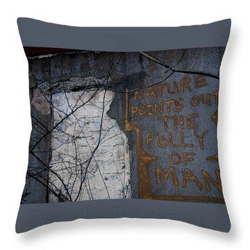 Poignant Throw Pillow