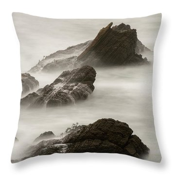 Throw Pillow featuring the photograph Point Arena  by Dustin LeFevre