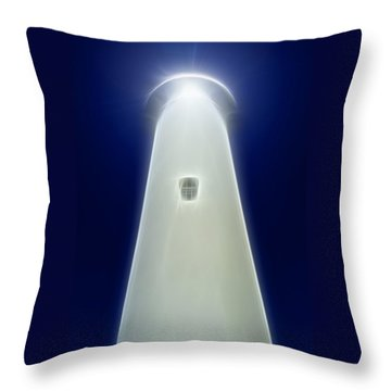 Point Arena Lighthouse Throw Pillow