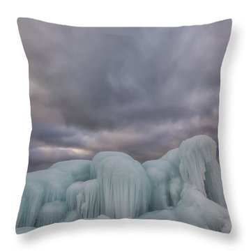 Point Betsie 11 Throw Pillow