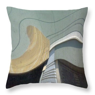 Point Blank Throw Pillow