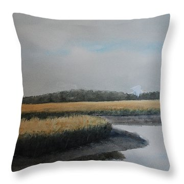 Point Comfort Throw Pillow by Stanton Allaben
