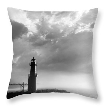 Point Of Inspiration Throw Pillow