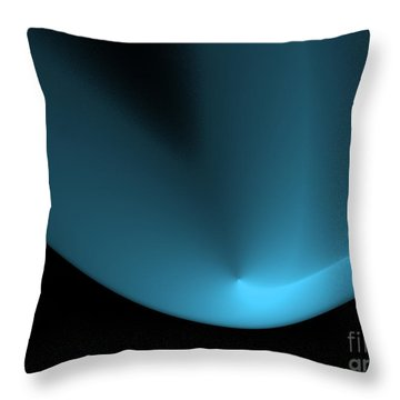 Point Of Light Throw Pillow by Kate Purdy