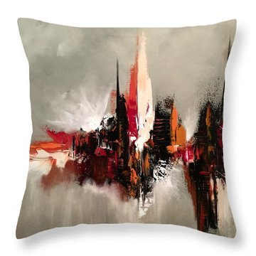 Point Of Power Throw Pillow