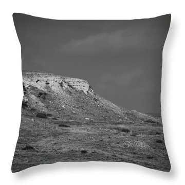 Point Of Rocks Throw Pillow