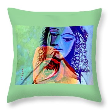 Point Of View. Throw Pillow