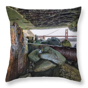 Throw Pillow featuring the photograph Point Of View by Steve Siri