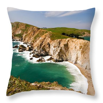 Point Reyes National Seashore Throw Pillow